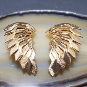 Jewelry - Vintage Egyptian Isis Wing Earrings